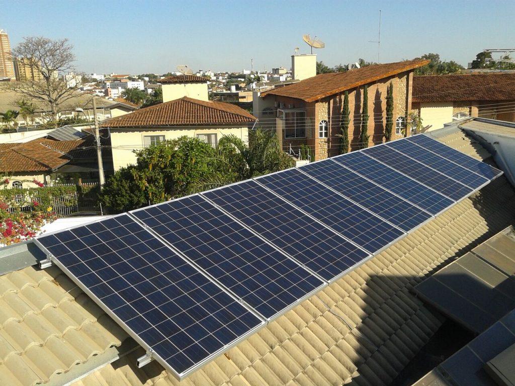 energia solar residencial casa