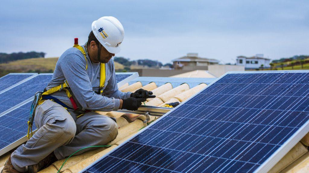 energia solar residencial usinas particulares