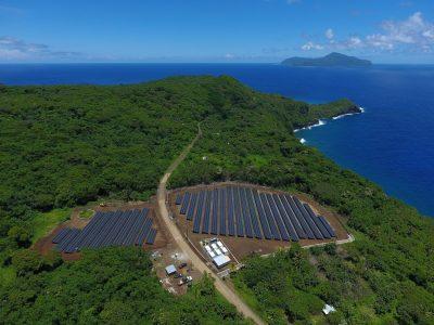 Ilha Solar: Usina solar instalada na ilha