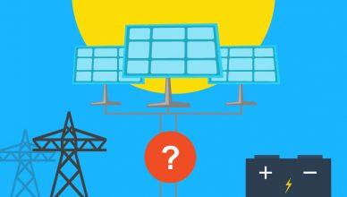 sistema fotovoltaico conectado à rede ou isolado?
