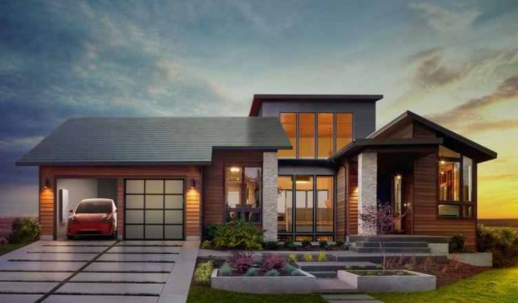 telha solar tesla