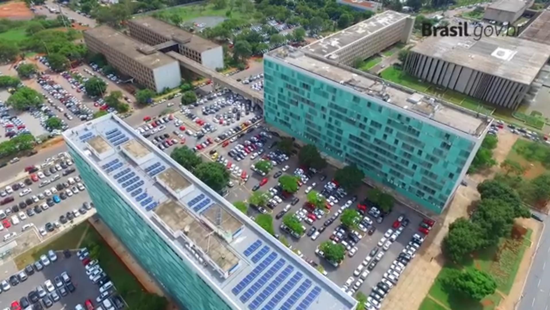 Energia Solar no Brasil: Sistema Instalado no Ministério de Minas e Energia