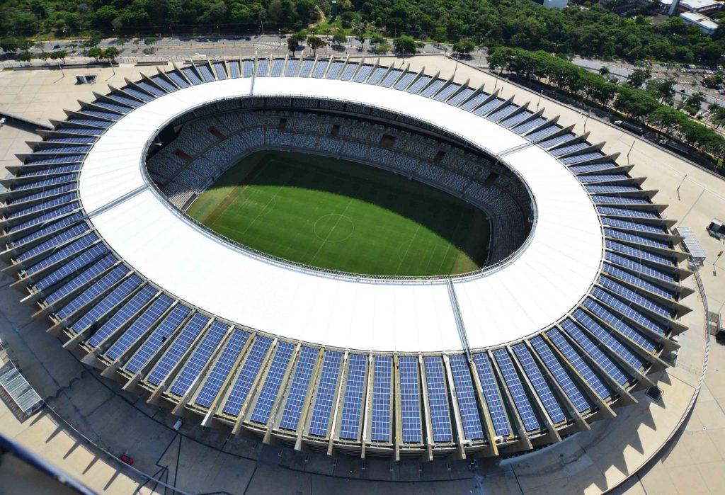 Energia solar no Brasil: Usina solar do estádio Mineirão
