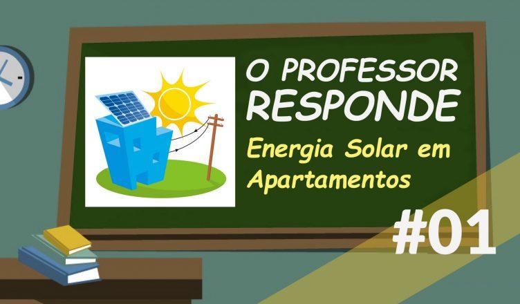 energia solar para apartamento