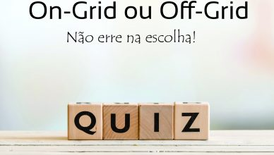 Quiz Energia Solar: Sistema On-Grid ou Off-Grid