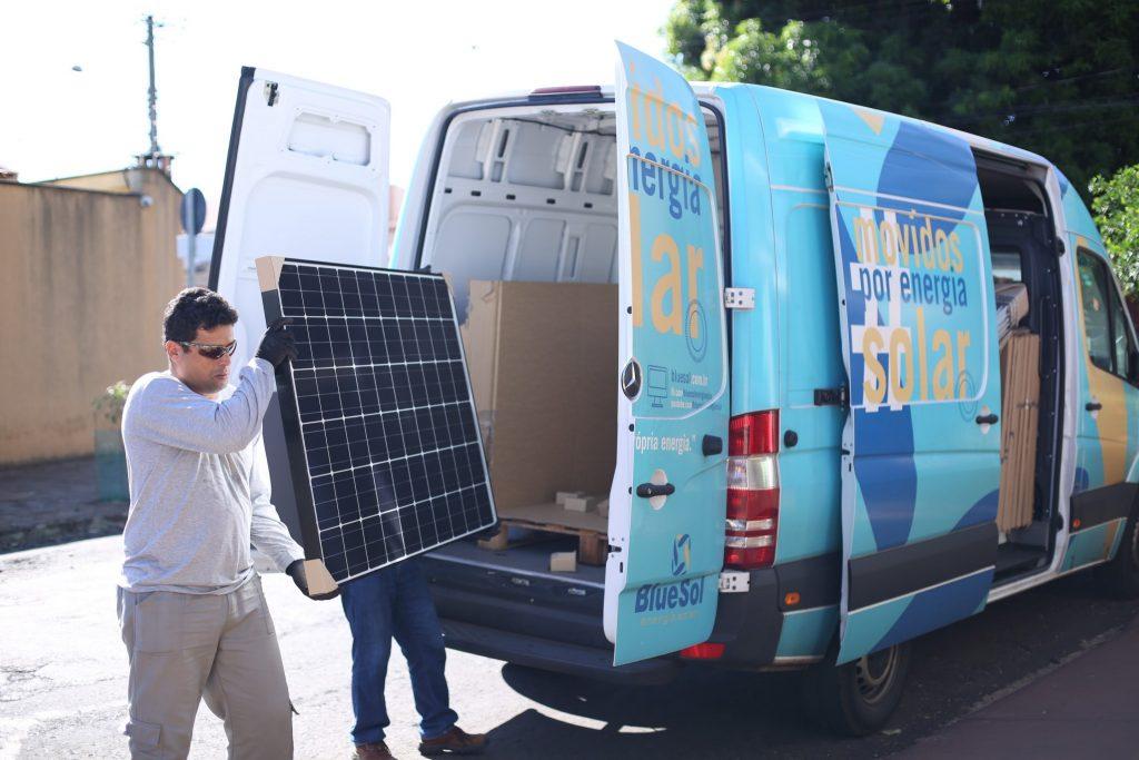 Como Produzir Energia Solar: Logística dos módulos do sistema fotovoltaico