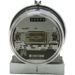 Não é possível se conectar o sistema fotovoltaico sem a troca do relógio analógico