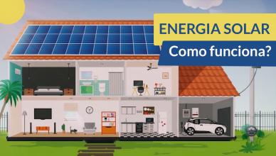 Como é Produzida a Energia Solar