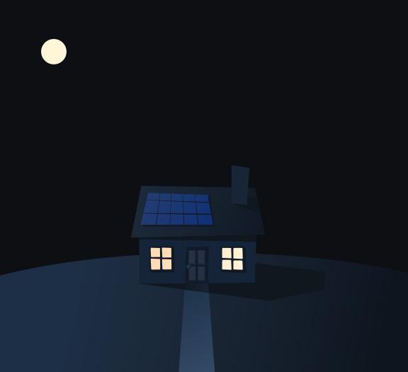 Energia Solar Como Funciona à Noite