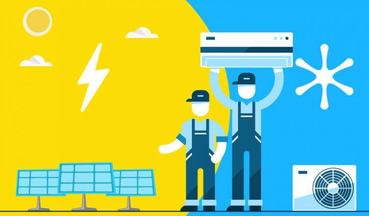 Energia Solar para Ar-condicionado: Fuja desses 2 erros comuns