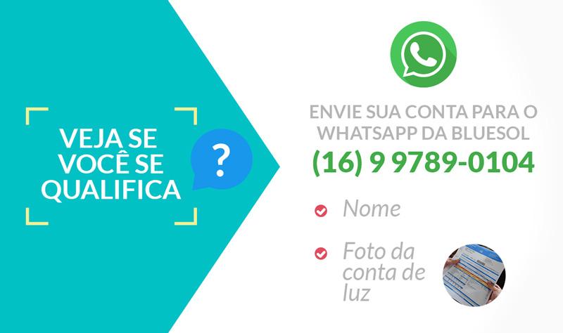 contato whatsapp blue sol