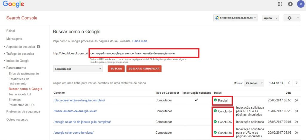 menu-indexação-search console