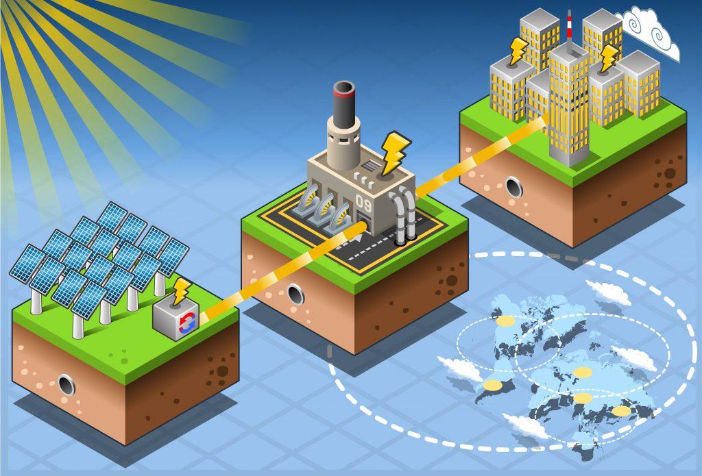 usina solar como funciona