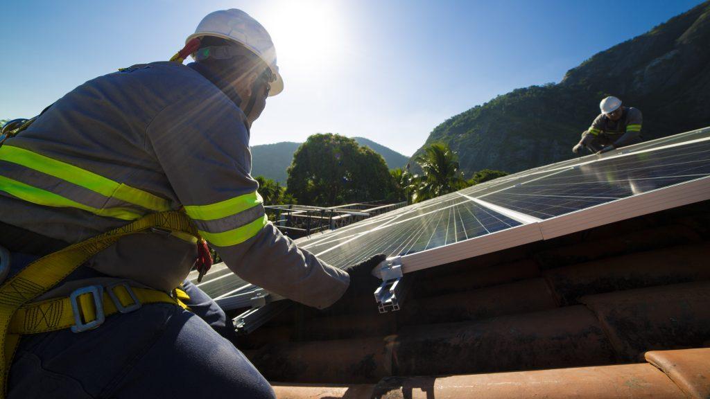 Projeto de Energia Solar Residencial: Mão de Obra