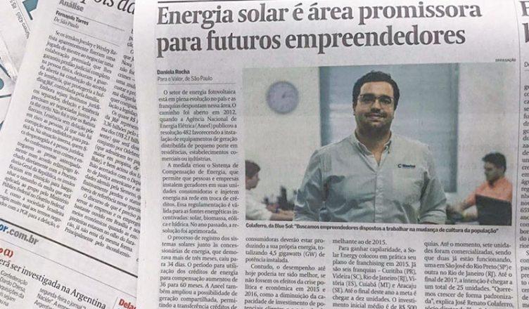 Trabalhar Com Energia Solar: Setor e Blue Sol Em Destaque na Mídia - Capa