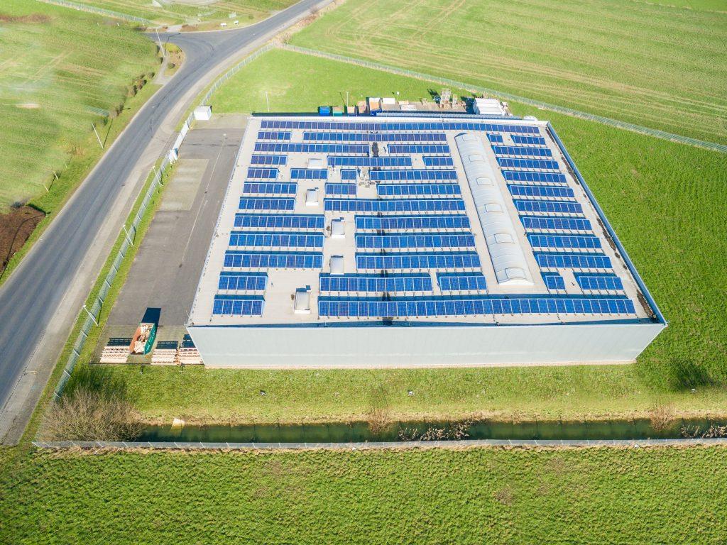 Gerador de Energia Solar - Sistema Industrial