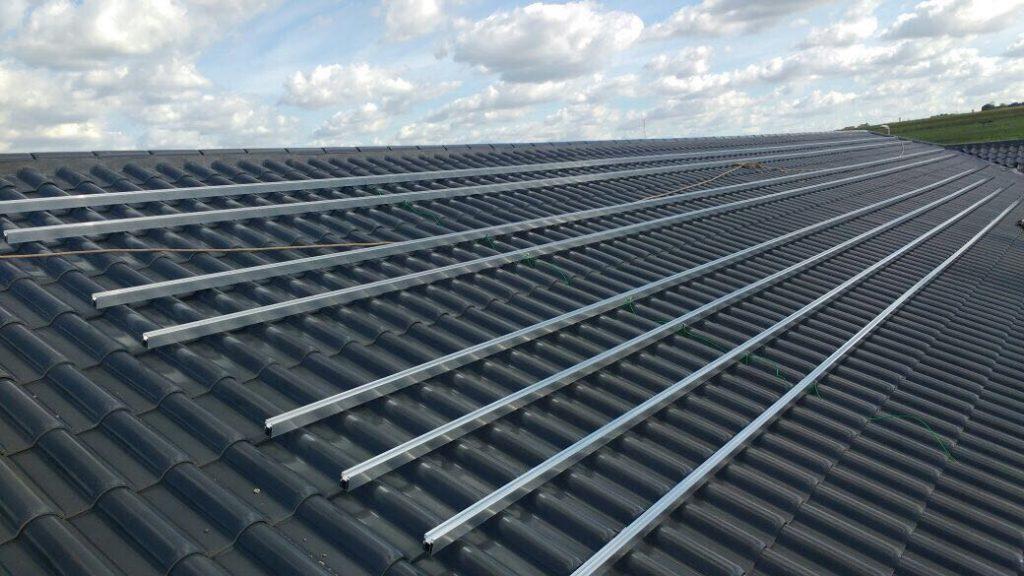 Projeto de Energia Solar Residencial: Estrutura de Fixação dos Módulos