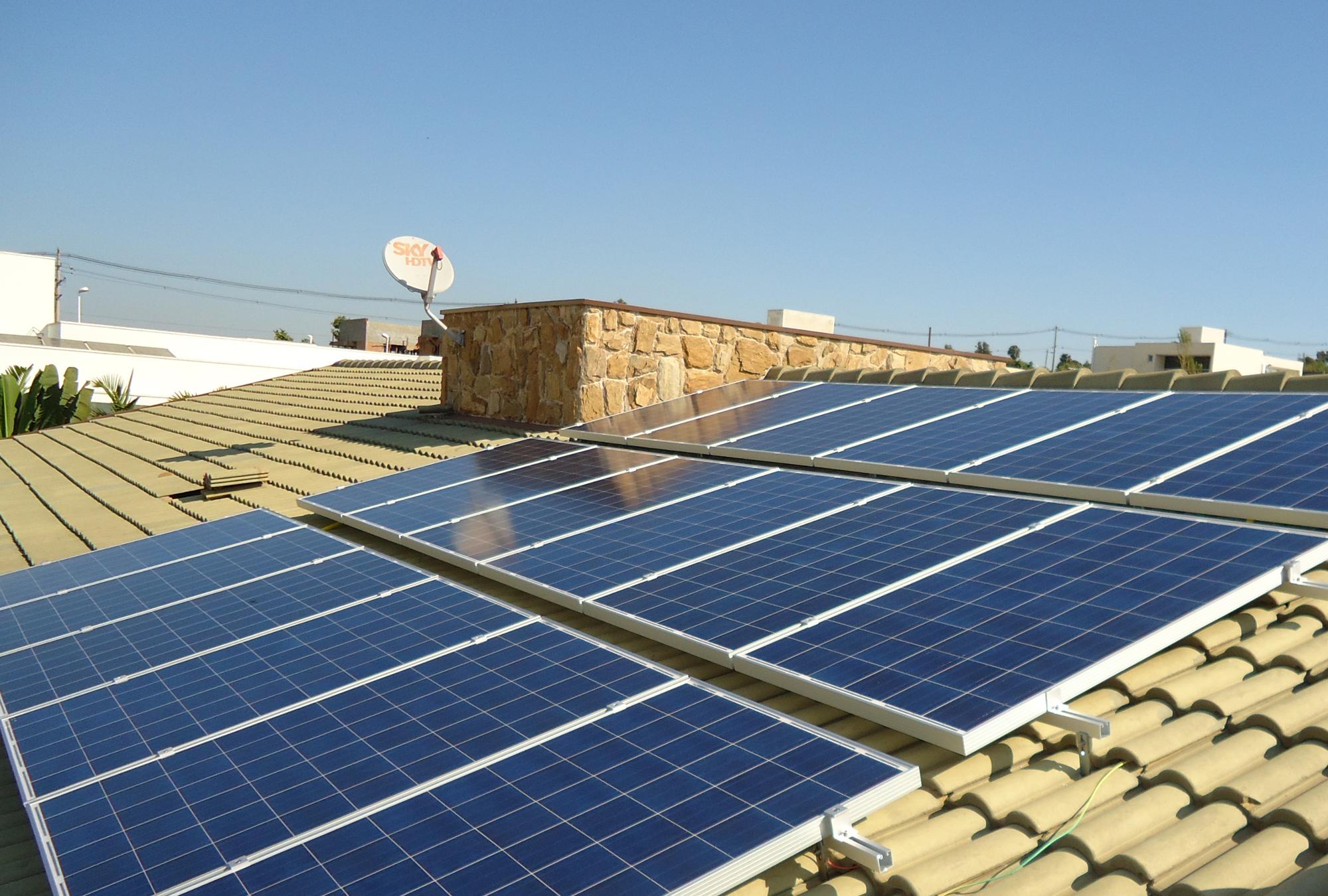 Energia solar fotovoltaica _ sistema fotovoltaico On-Grid