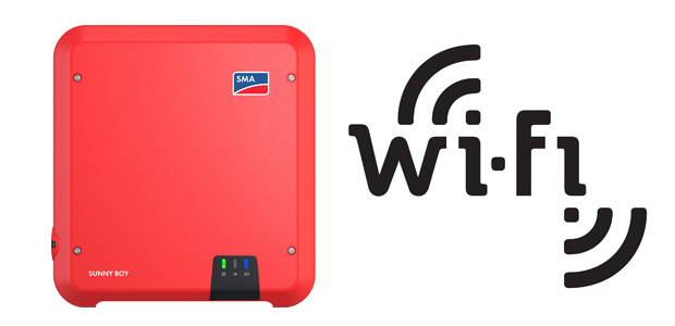 Inversor SMA_Wi-Fi Incluso
