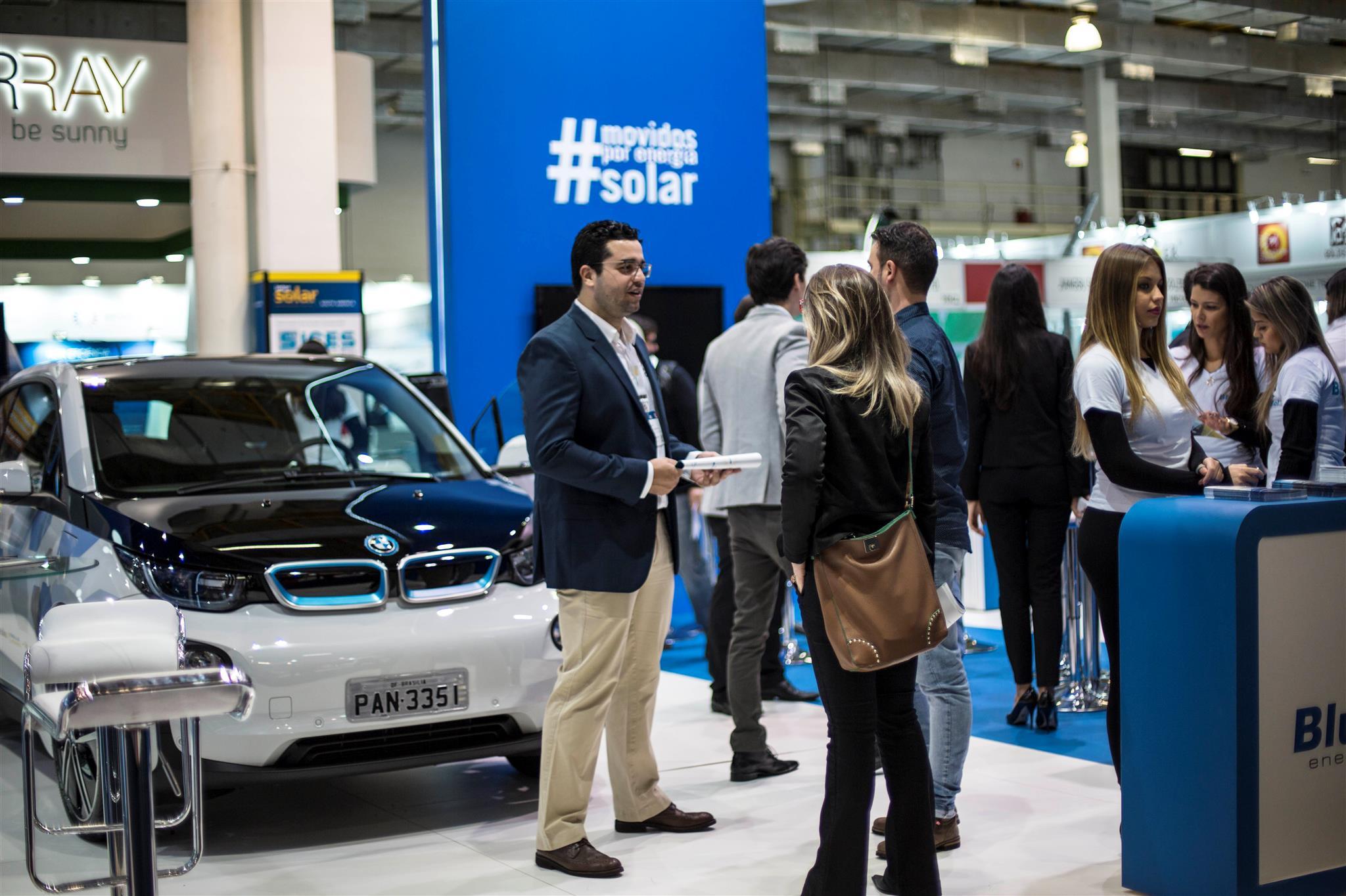 Blue Sol na feira de energia solar Intersolar (3)
