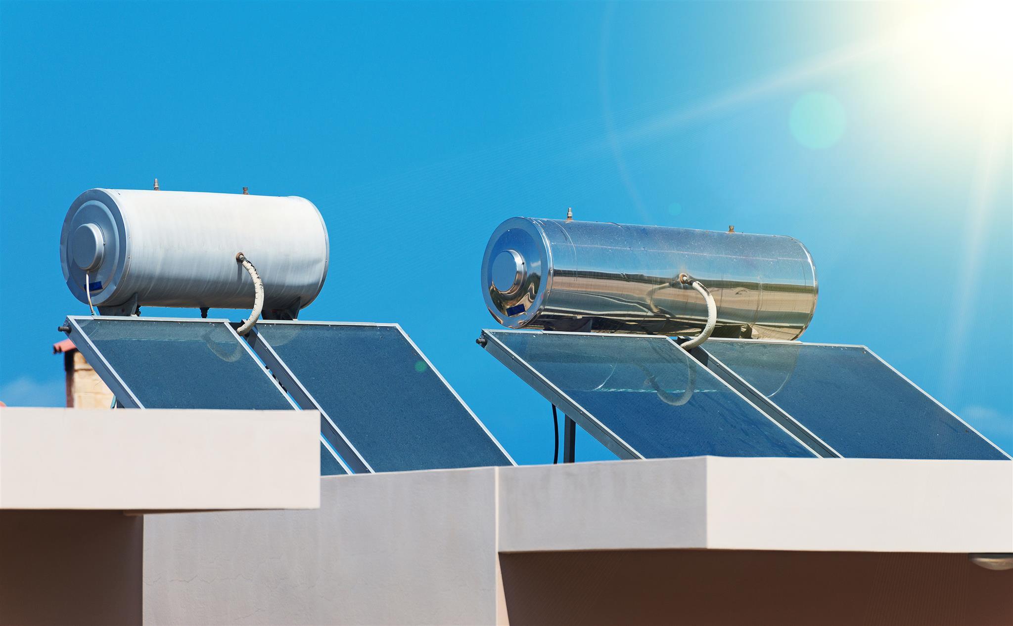Como captar energia solar _ Sistema de aquecimento solar