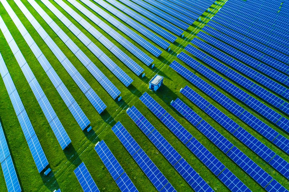 fontes alternativas de energia _ usina solar fotovoltaica