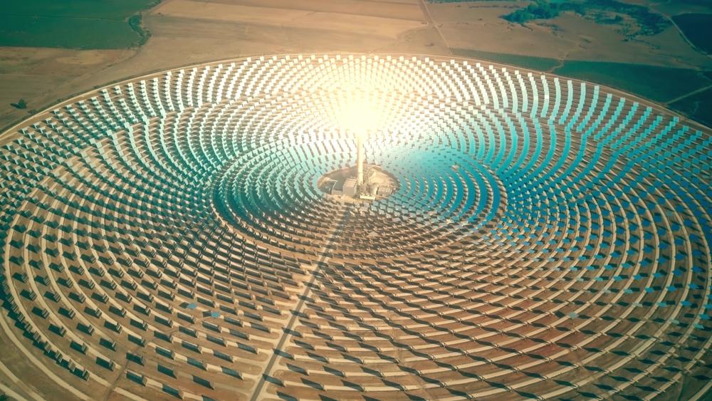 fontes de energia alternativas _ usina heliotérmica