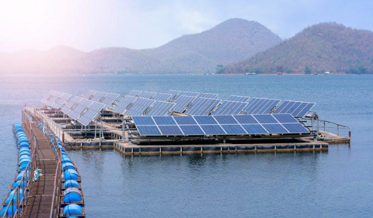 energia solar na Bahia _ exemplo de usina solar flutuante
