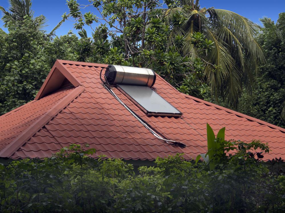 energia solar fotovoltaica _ sistema de aquecimento solar