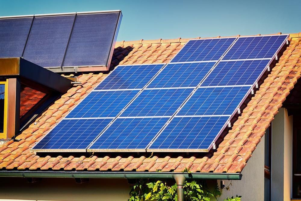 Energia solar fotovoltaica _ painel solar