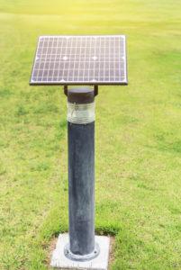 mini placa solar _ sistema de iluminação isolado