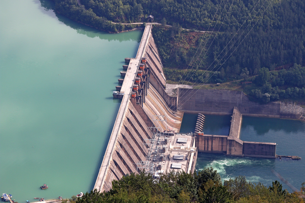 fontes alternativas de energia - usina hidrelétrica
