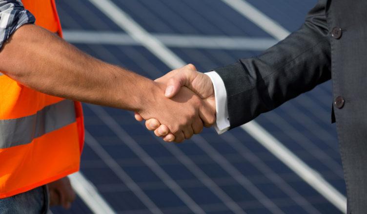 trabalhar com energia solar