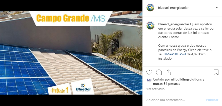 energia solar Campo Grande