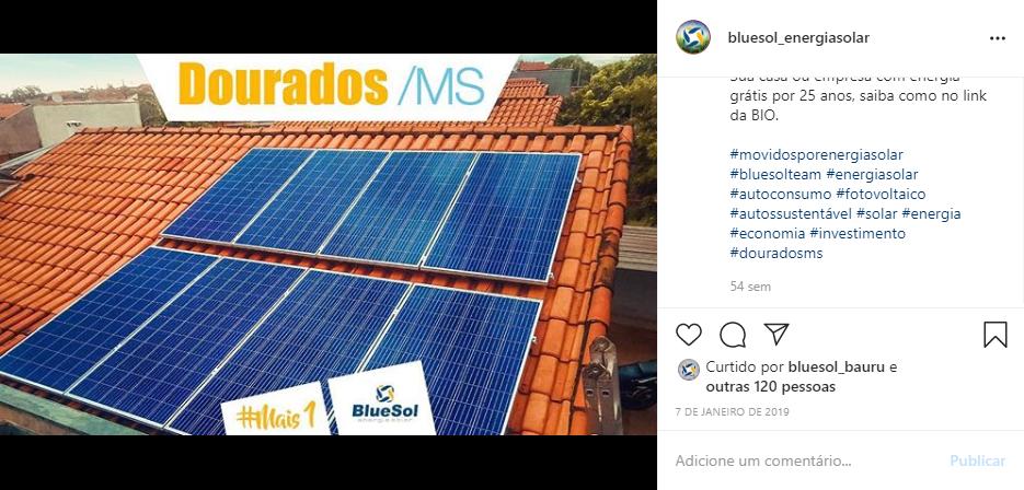 energia solar Dourados MS