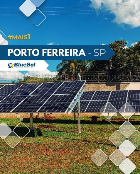 energia solar para irrigação _ sistema fotovoltaico tipo usina