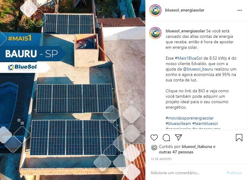 energia solar Bauru _ sistema residencial
