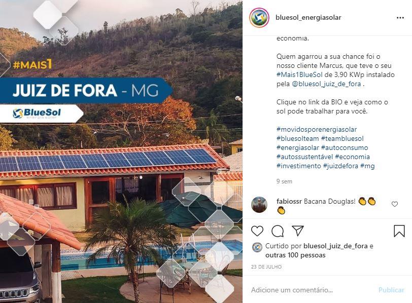 energia solar Juiz de Fora _ projeto residencial
