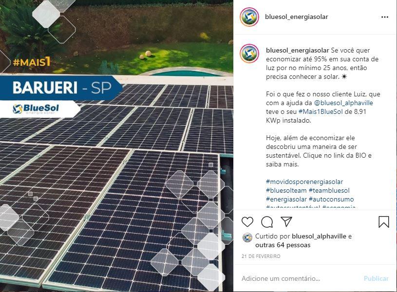 energia solar Barueri _ projeto residencial