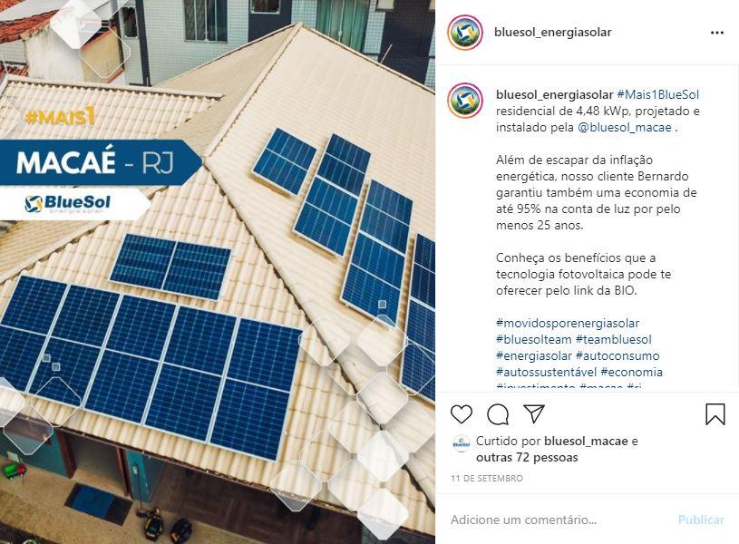 energia solar Macaé _ projeto residencial