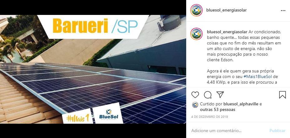 energia solar Barueri _ painel solar em telhado residencial