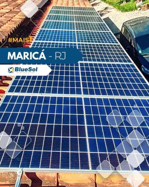 energia solar Maricá _ telhado solar bem instalado