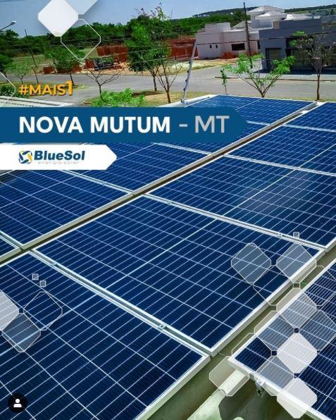 energia solar nova mutum _ placas solares sobre o telhado