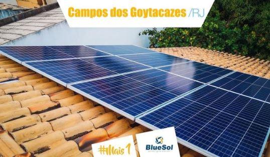 energia solar Campos do Goytacazes _ módulos fotovoltaicos no telhado