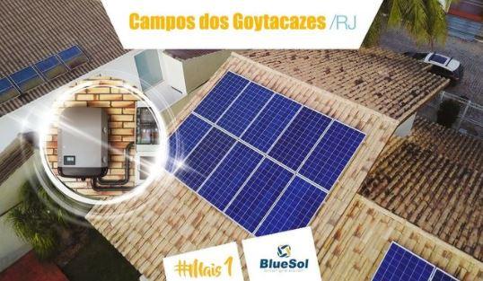 energia solar Campos do Goytacazes _ painel e inversor solar
