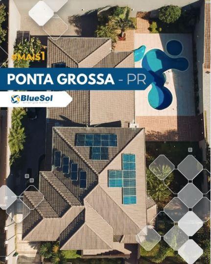 energia solar Ponta Grossa _ painel solar residencial