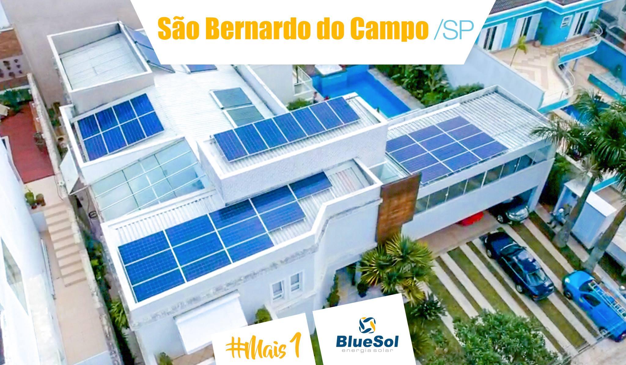 energia solar sao bernardo do campo _ painel solar em telhado